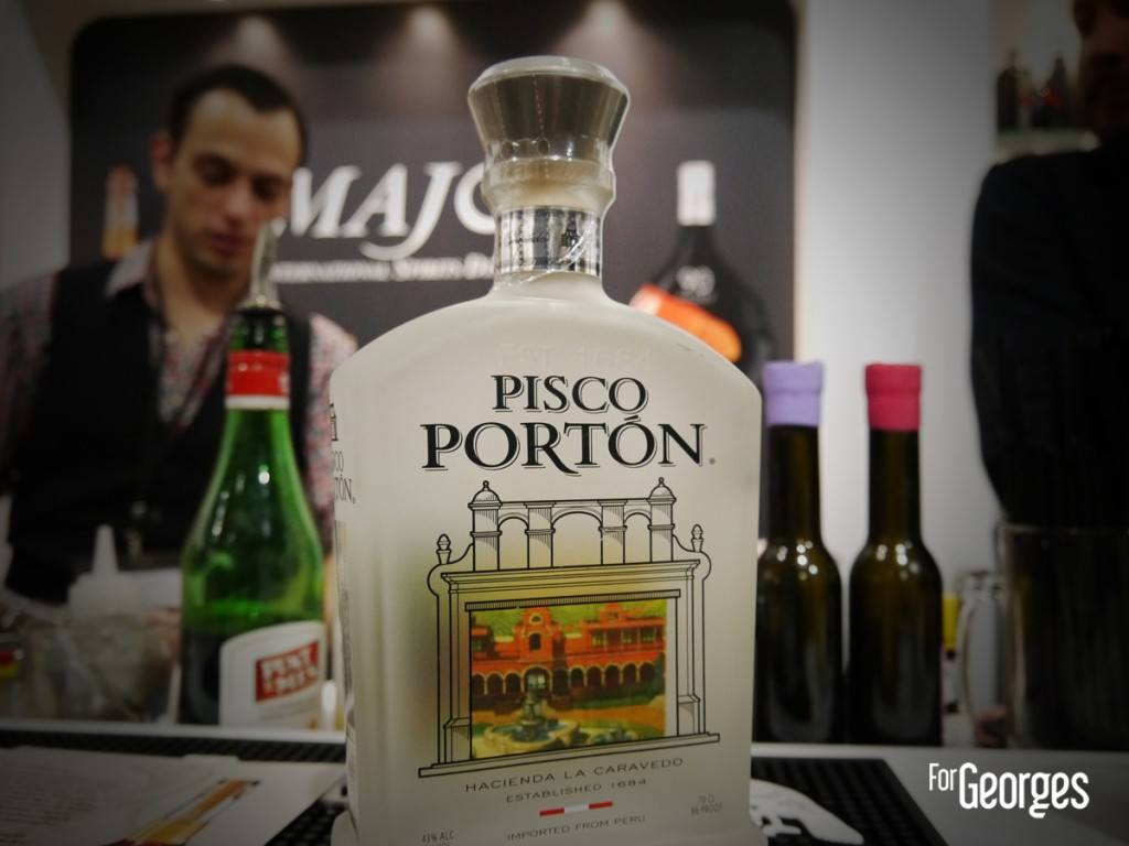Cocktails spirits Paris 2015 Pisco Porton