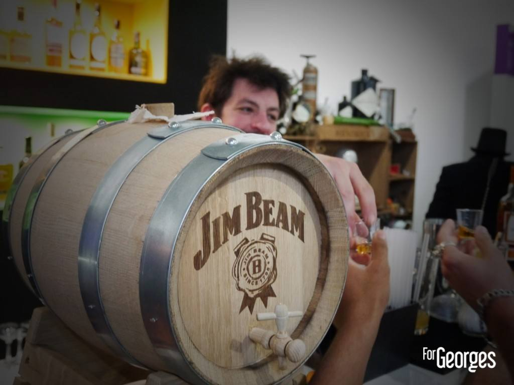 Cocktails spirits Paris 2015 Jim Bean