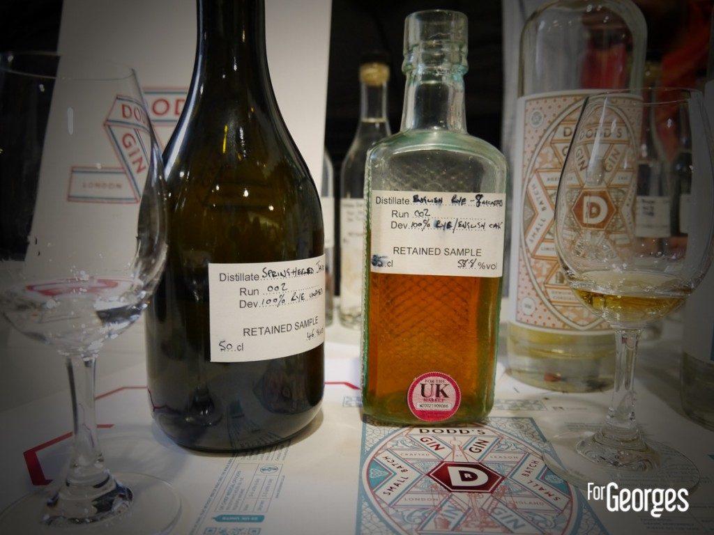 Cocktails spirits Paris Gin Dodds
