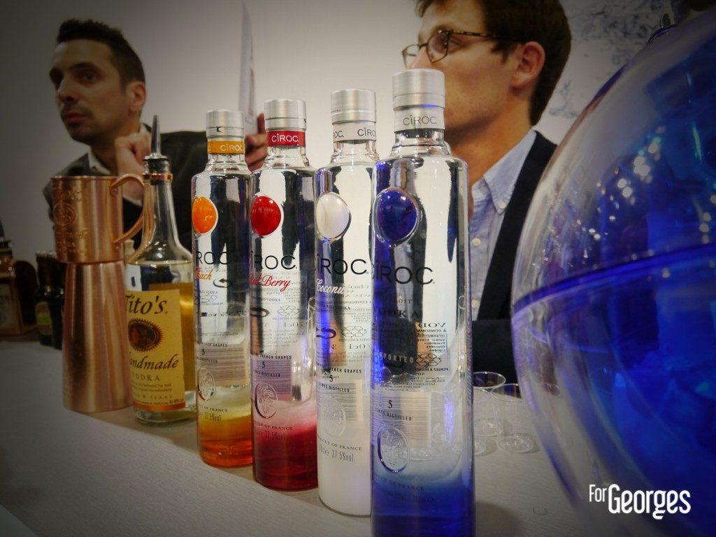 Cocktails spirits Paris Ciroc Vodka