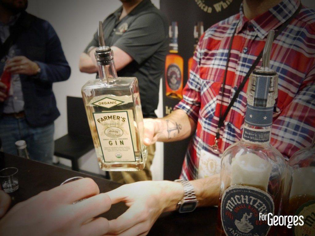 Cocktails spirits Paris Michters American Bourbon