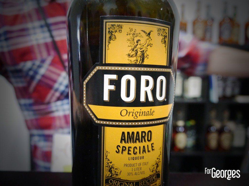 Cocktails spirits Paris Foro Amaro