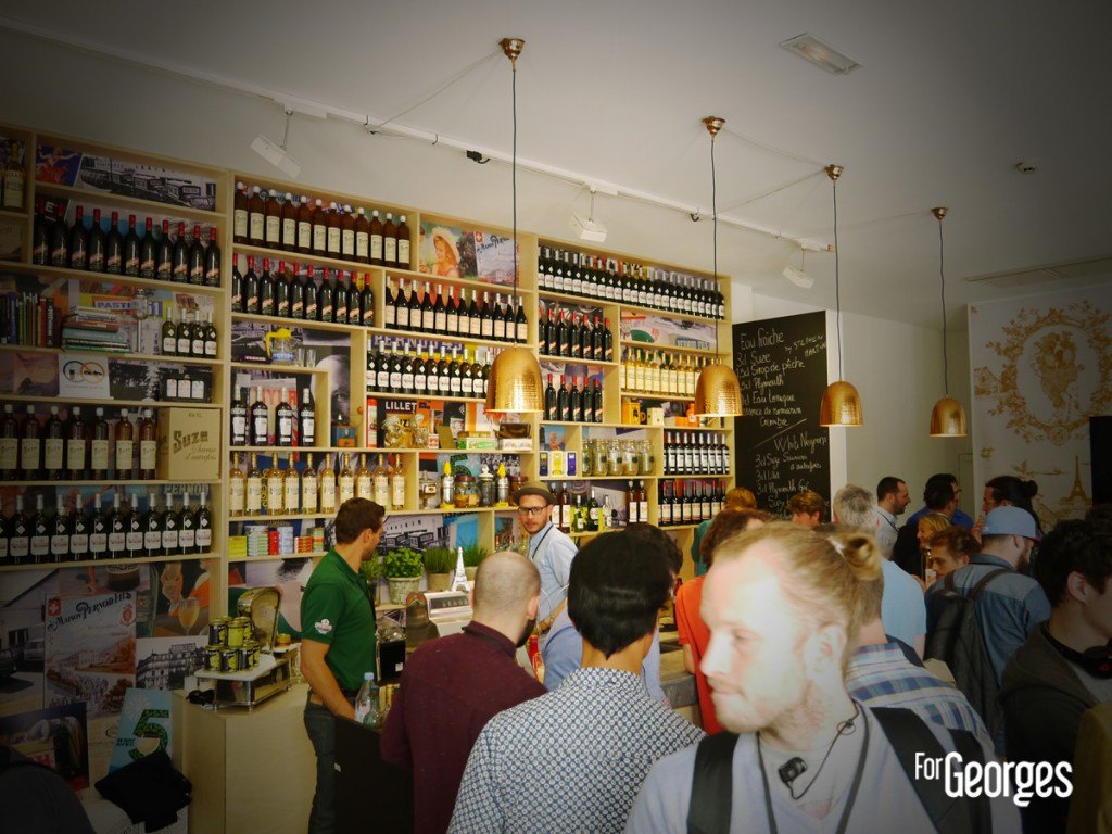 Cocktails spirits Paris Le bar des amis Pernod