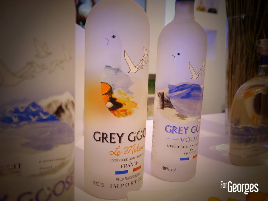 Cocktails Spirits 2015 Paris Grey Goose melon