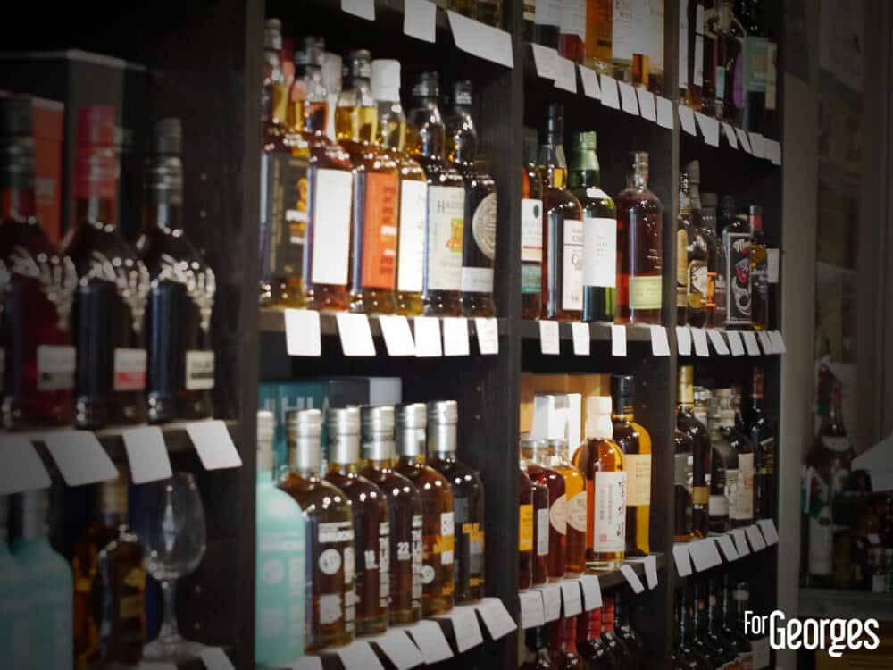 Whiskies and Spirits Beaune