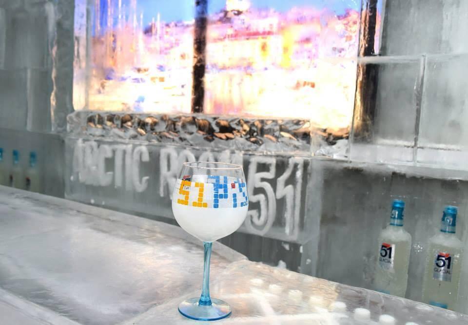 51 glacial  Arctic Room 51 Pernod Pastis