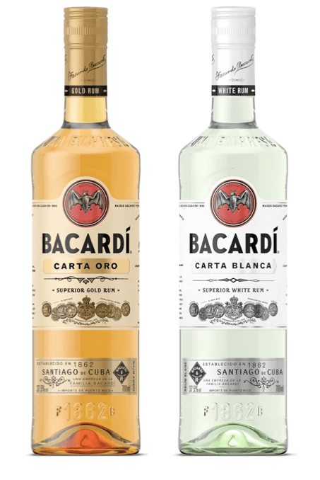 Bacardi nouveau packaging