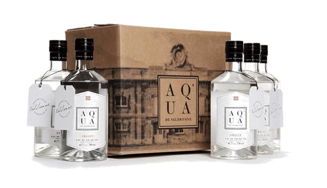 Aqua eau de vie de vin