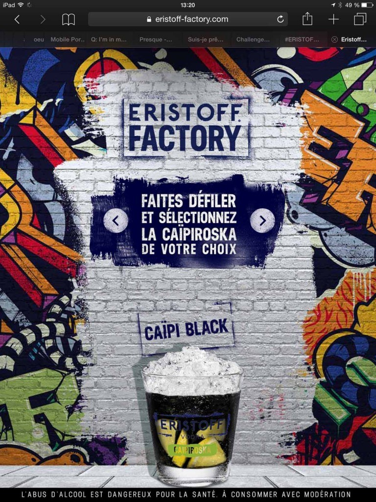 Eristoff factory ForGeorges