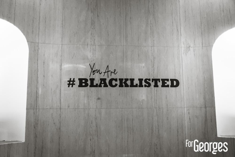 Soirée Blacklisted Desperados Black ForGeorges