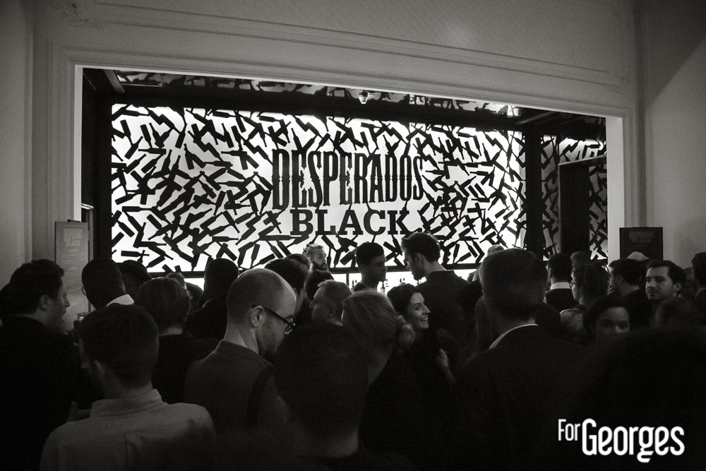 Soirée Blacklisted Desperados Black ForGeorges
