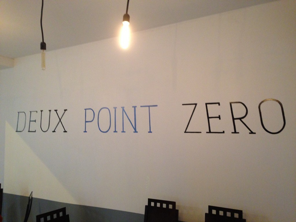 Deux points Zero bar cockta