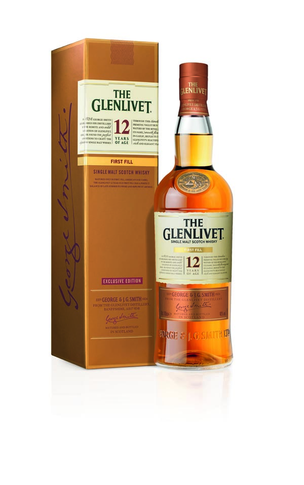 The Glenlivet First Fill 12 ans - packshot