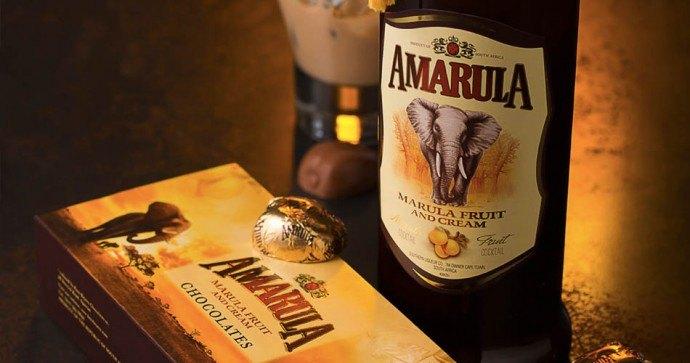 Amarula liqueur
