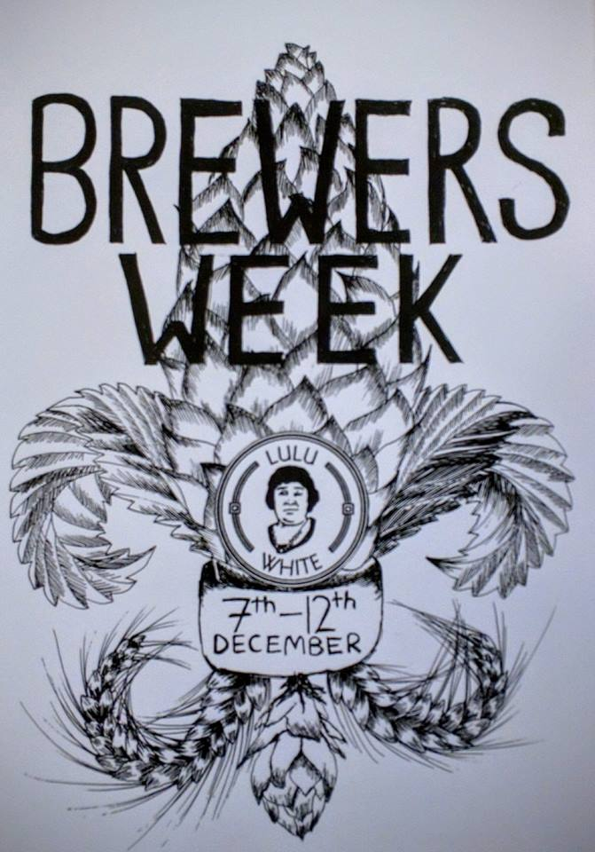 Lulu White brewers week