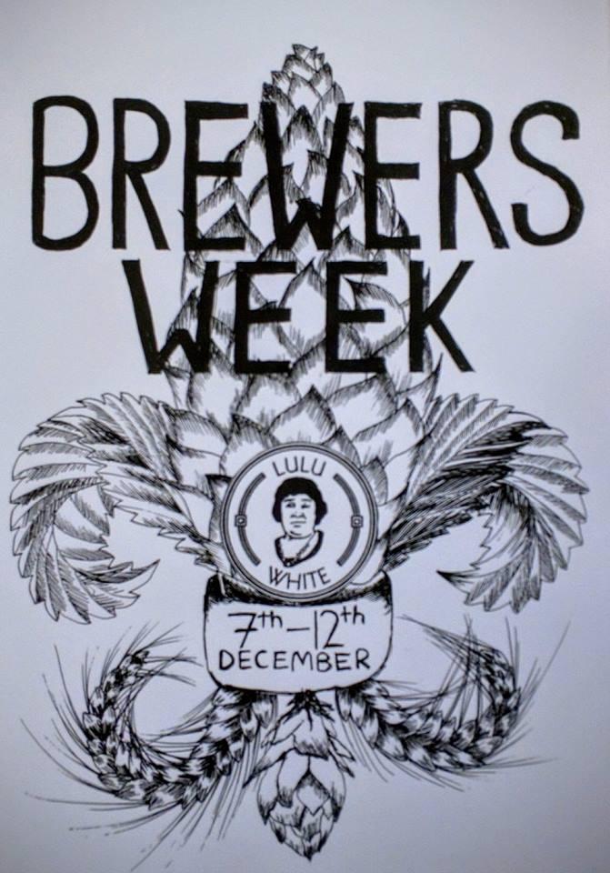 Lulu White brewers week