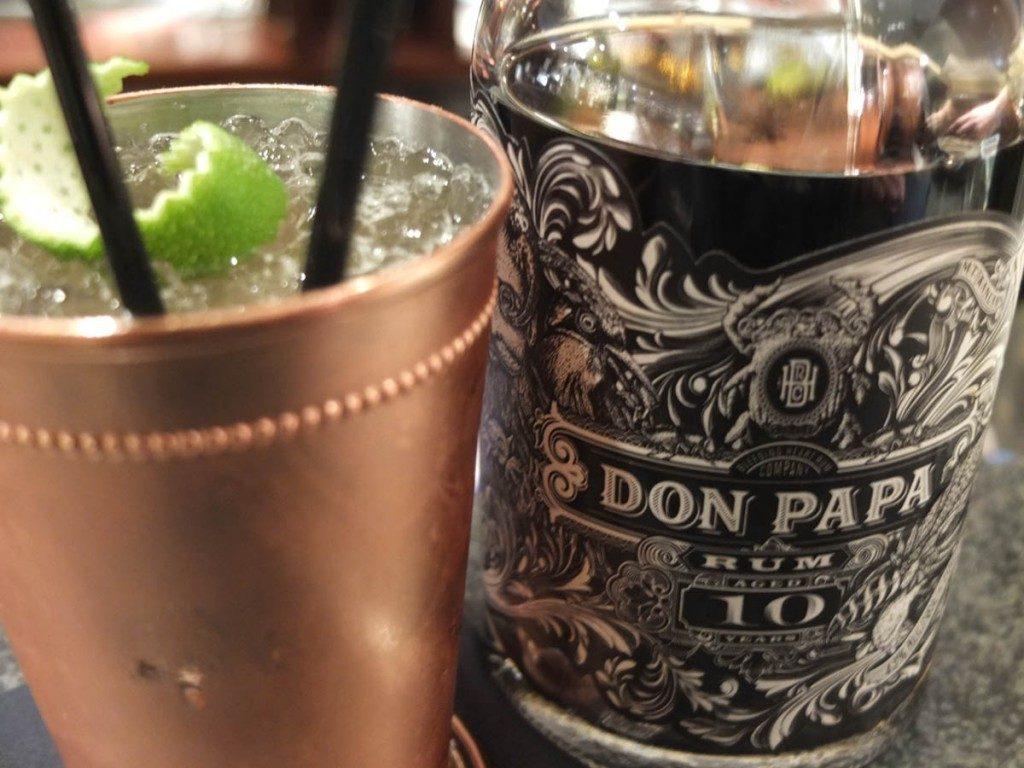 Cocktail Scribe Don papa