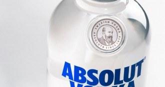 Nouvelle bouteille Absolut