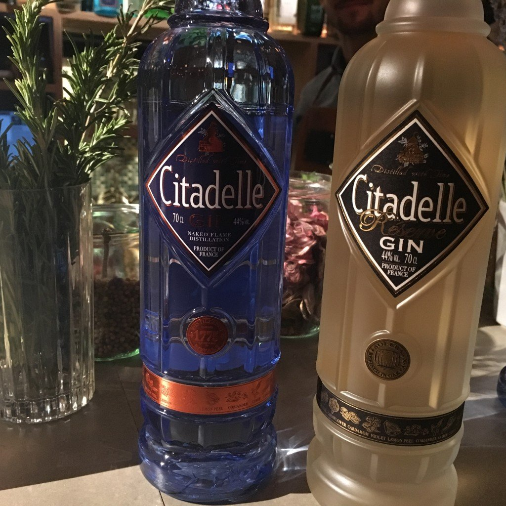 Citadelle Gin Tiger Paris