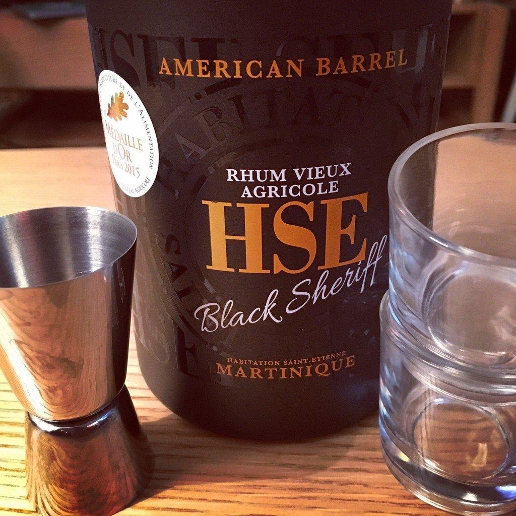 HSE Rhum Black Sherrif