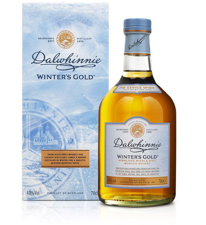 -DALWHINNIE Winter's Gold Bouteille et Coffret