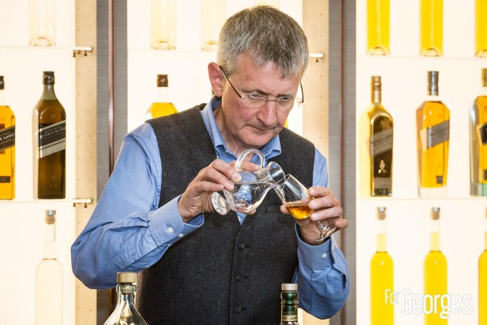 Jim Beveridge Johnny Walker au whisky shop paris