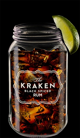 Cocktail rhum Kraken The Perfect Storm Cocktail