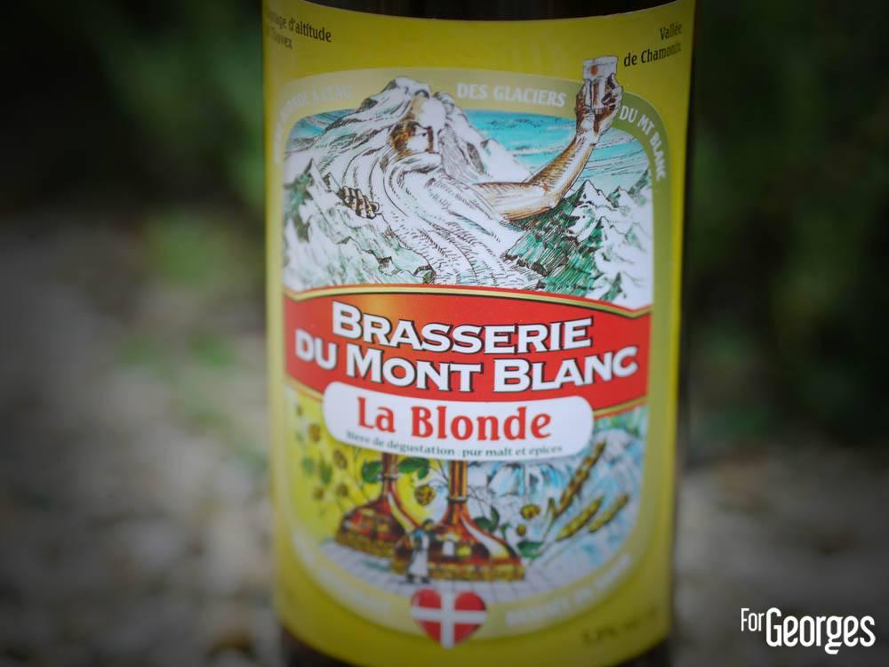 Brasserie Du Mont Blanc bière blonde