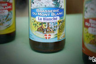 Brasserie Du Mont Blanc bière blanche