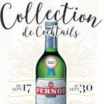 COLLECTION DE COCKTAILS FORGEORGES : PERNOD – PENINSULA PARIS