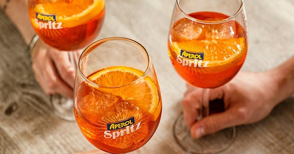 verres spritz Aperol