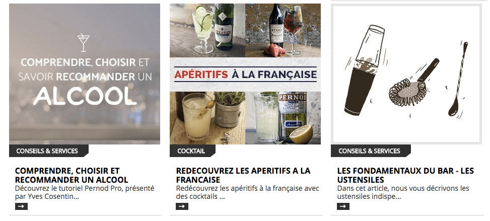 Plateforme Pernod Pro