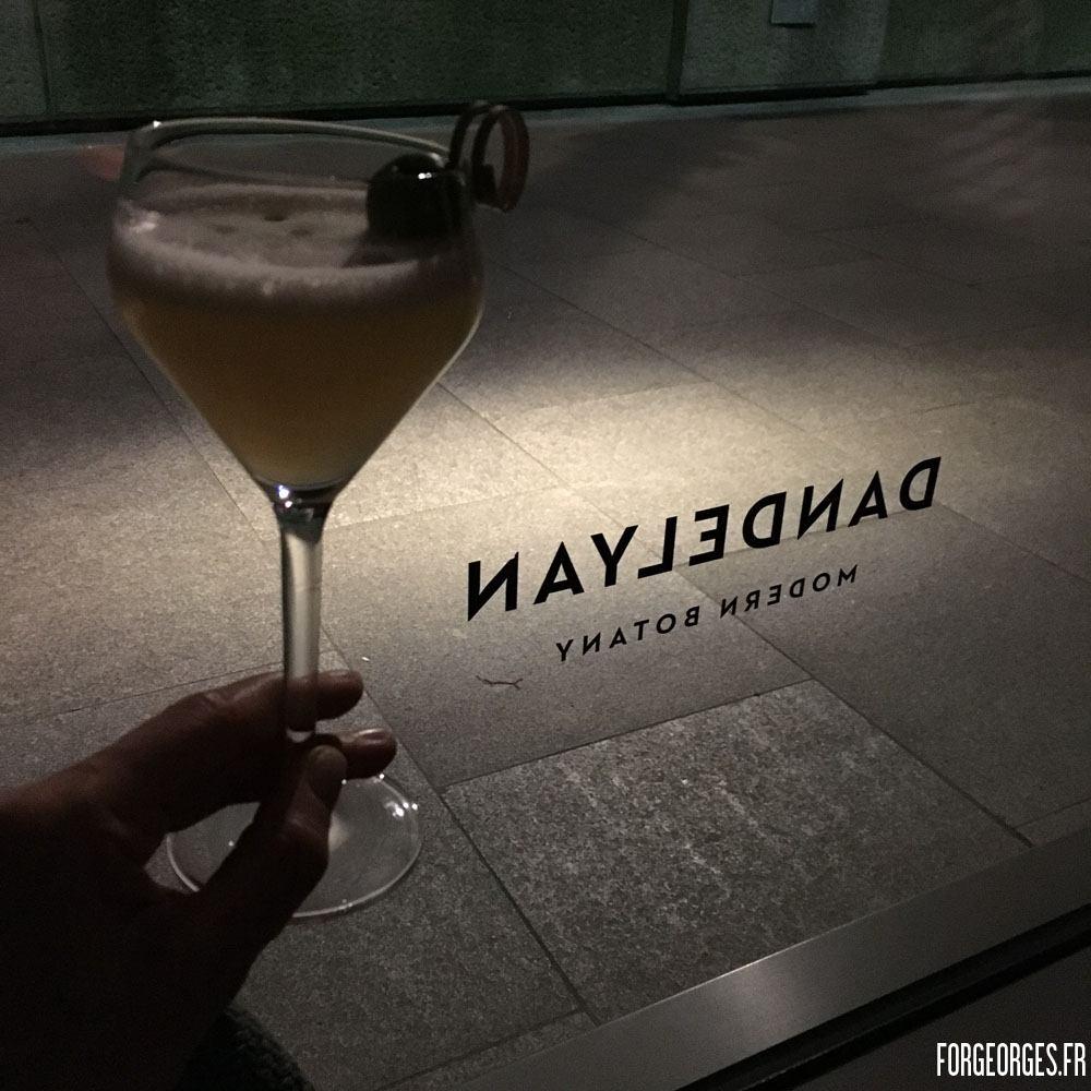 Dandelyan cocktail bar Londres