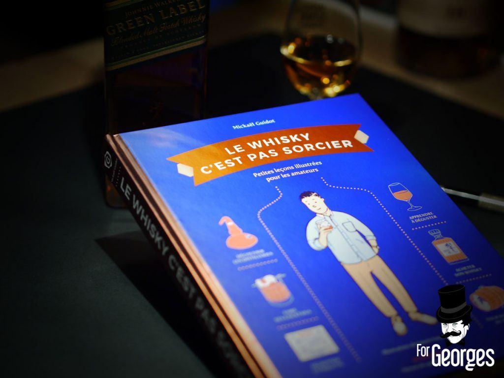 Le whisky c'est pas sorcier livre whisky