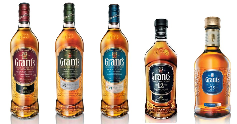 gamme whisky grant's