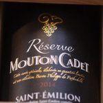 Réserve Mouton Cadet – vins à déguster