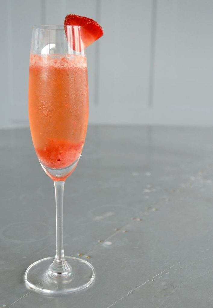 Strawberry-Bellini