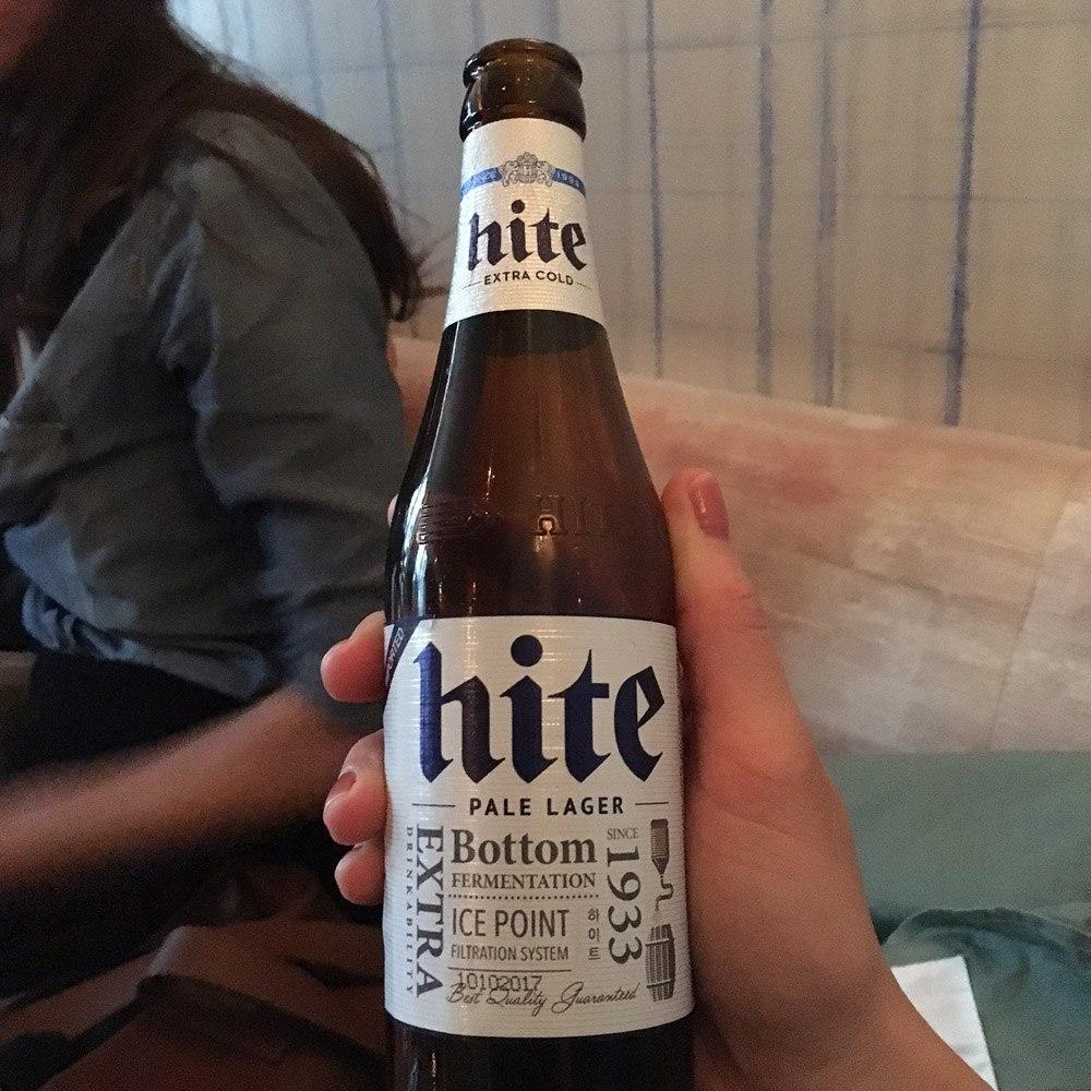 Hite bière coréenne