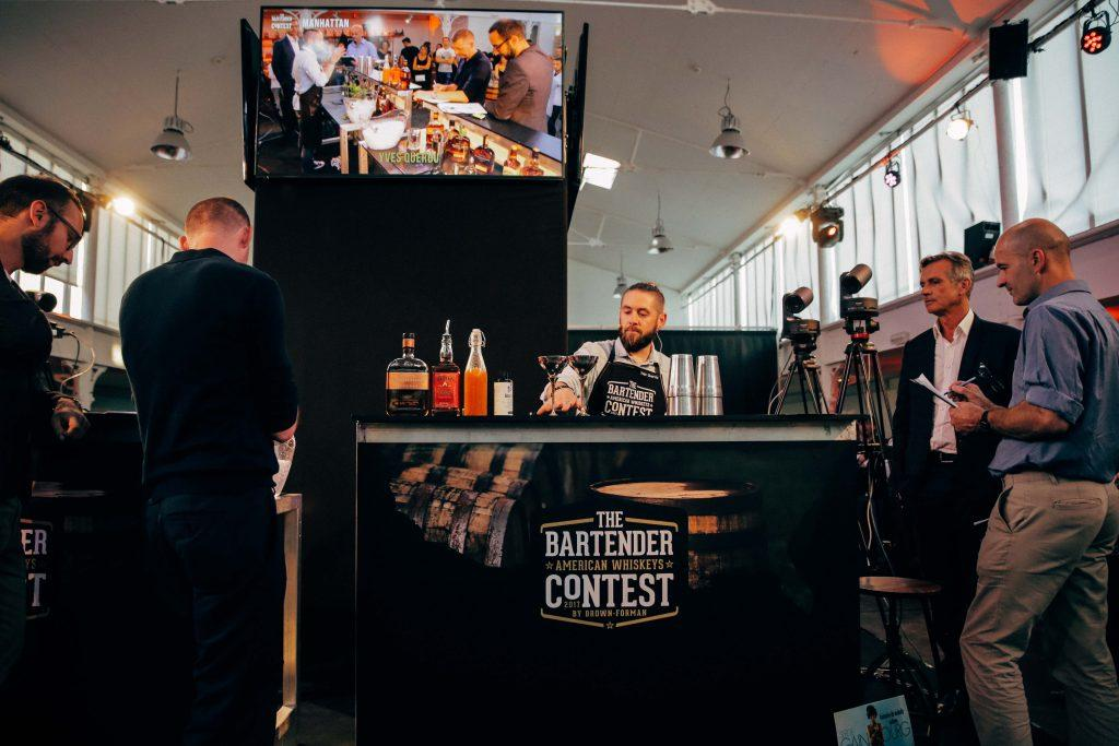 the bartender american whiskey contest by Brown Forman
