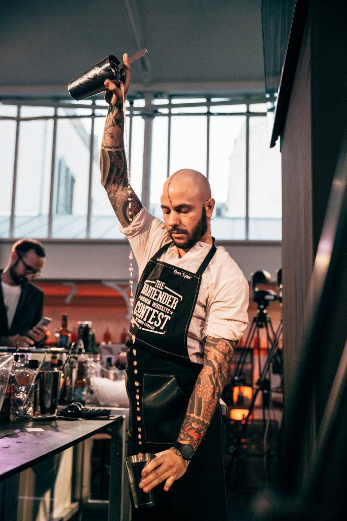 Ben Tyler the bartender american whiskey contest by Brown Forman