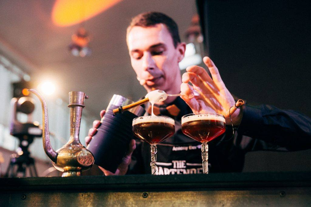 Antony Bertin barman Brown Forman bartender contest