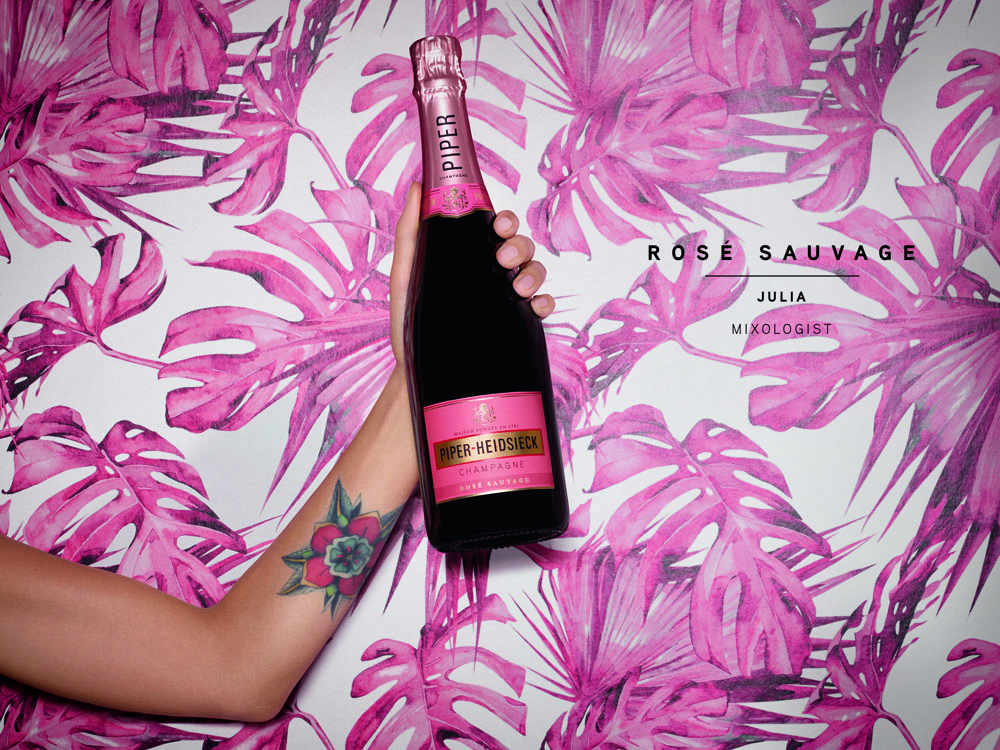 PIPER HEIDSIECK ROSE SAUVAGE Champagne