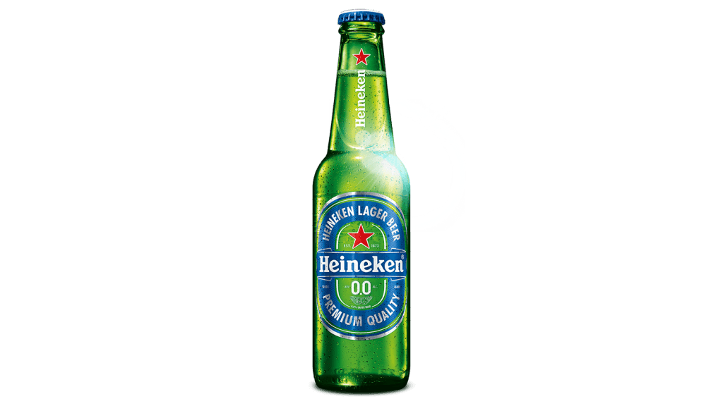 bottle heineken 0.0