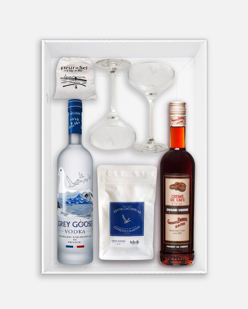 GREY GOOSE COFFRET INTERIEUR