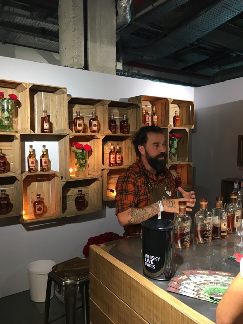 Four roses Whisky live Paris 2017