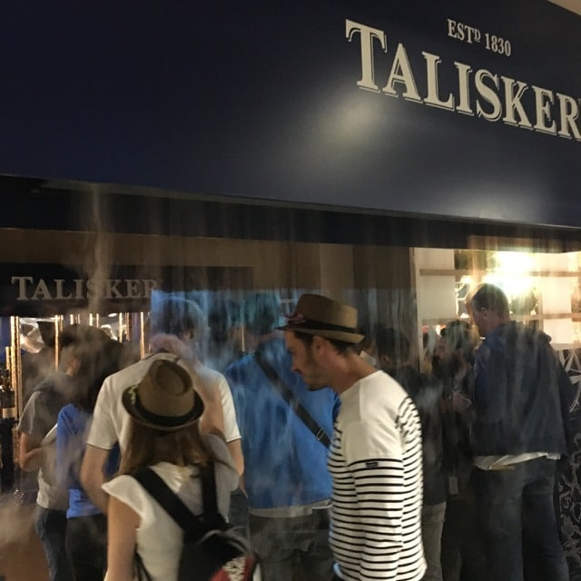 Talisker Whisky live Paris 2017