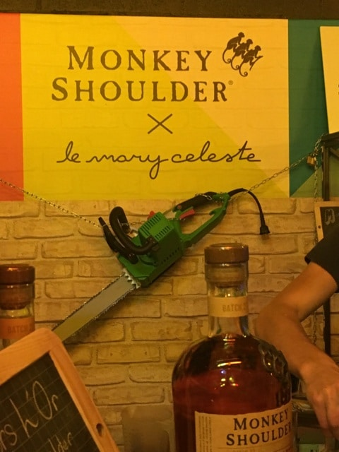 Monkey Shoulder x le mary Celeste
