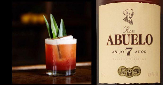 cocktail rhum Ron Abuelo 2