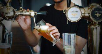 Carakale bière de Jordanie