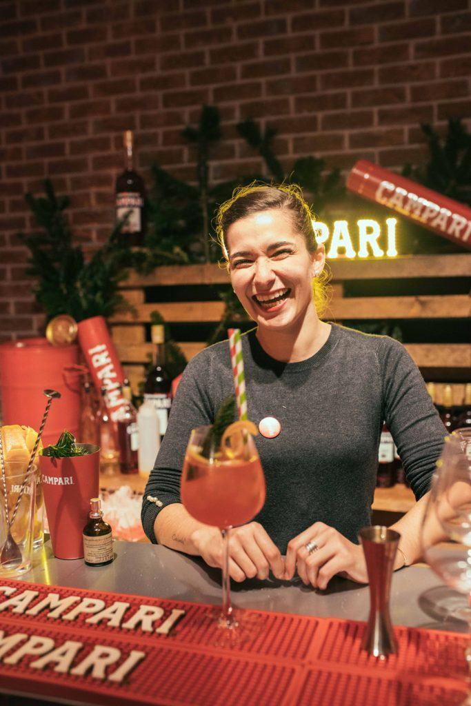 AUDREY GUERET - Campari Bartender Competition